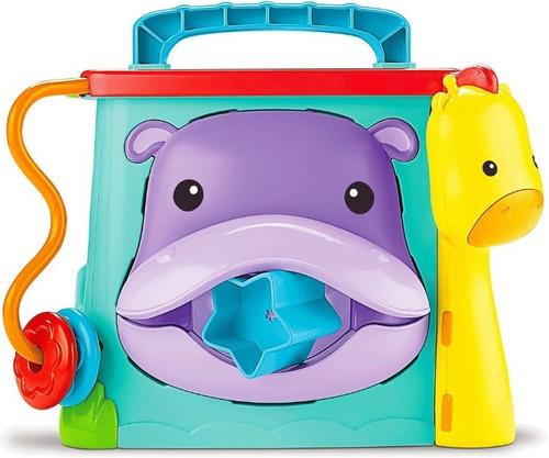 fisher price cubo juega y aprende con laberinto luz sonido
