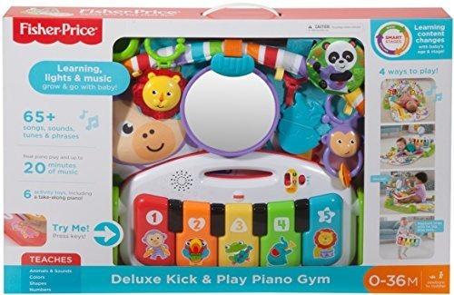 fisher-price deluxe kick - juega piano gym