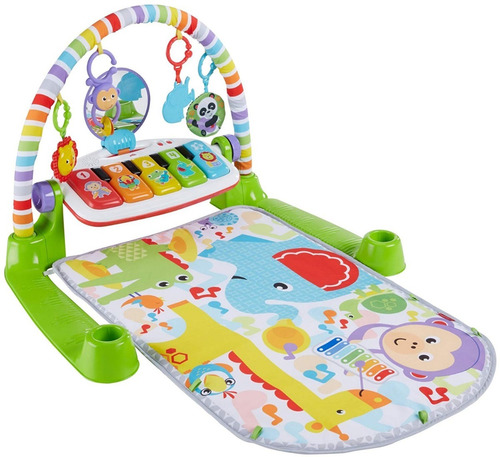 fisher-price deluxe piano maracas neutral gym musical  bebe