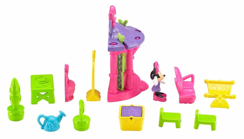 fisher-price disney minnie magical casa muñeca juguete niñas