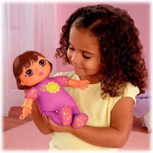Fisher price dora la exploradora mu eca bebe s 60 00 en - Cocina dora la exploradora fisher price ...