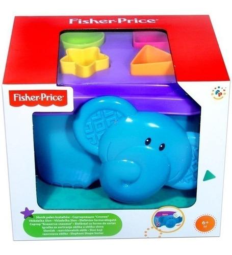 fisher price elefante fichas encajables didactico envio ya