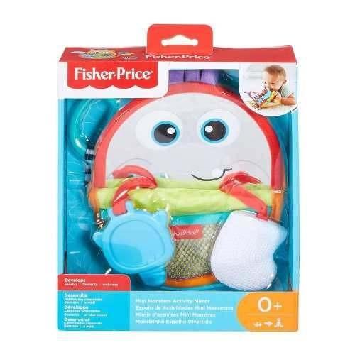 fisher-price espelho monstrinho vermelho - mattel fnf27