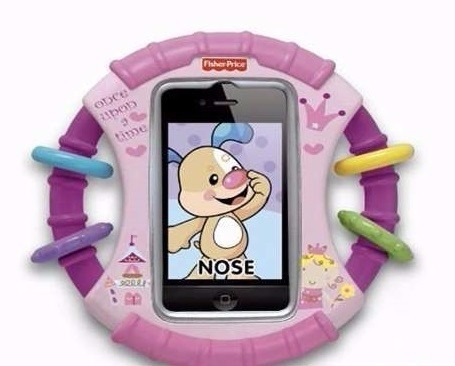 fisher price forro protector iphone ipod touch para bebes!!!