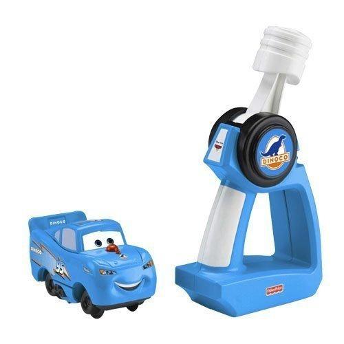 fisher-price geotrax pixar cars rc dinoco rayo mcqueen