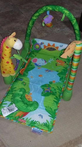 fisher price-gimnasio rain forest deluxe