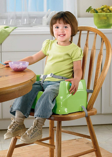 fisher-price healthy care booster green silla comedor bebe