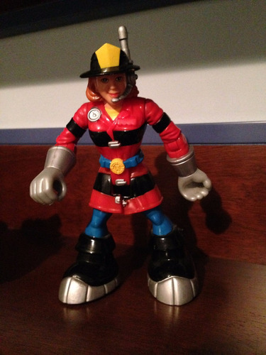 fisher price - heroes de rescate - juguete - muñeco - figura