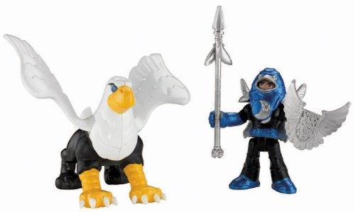 fisher-price imaginext castillo basic - knight and phoenix