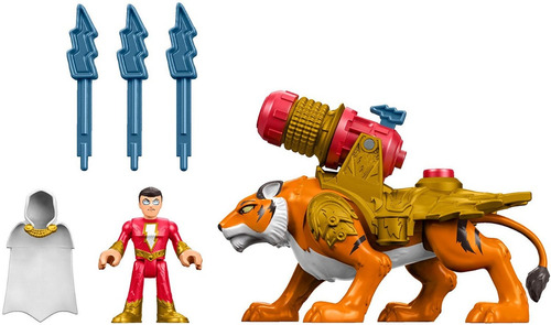 fisher price imaginext shazam y tigre jugueteria bunny toys