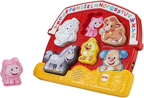 fisher-price laugh - aprende rompecabezas de animales de gra