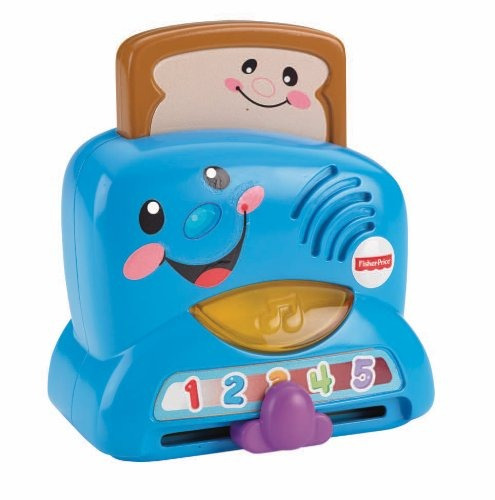 fisher-price laugh y aprende peek-a-boo tostadora