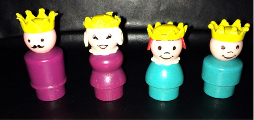 fisher price little people familia real lote 2!!
