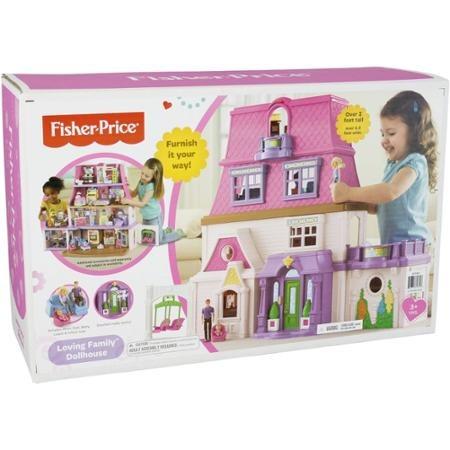 fisher-price loving familiy casa de muñecas, bfr48