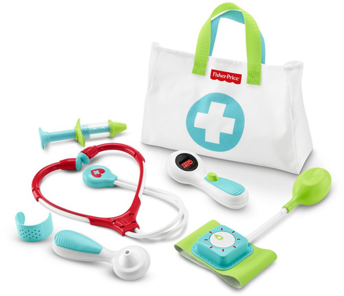 fisher-price medical kit juguete  kit médico niños