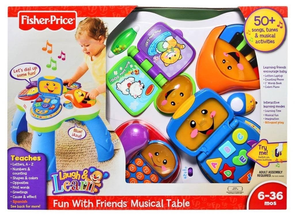 27117afb8 Fisher Price Mesa Didactica Musical Interactiva Bunny Toys - $ 5.500 ...