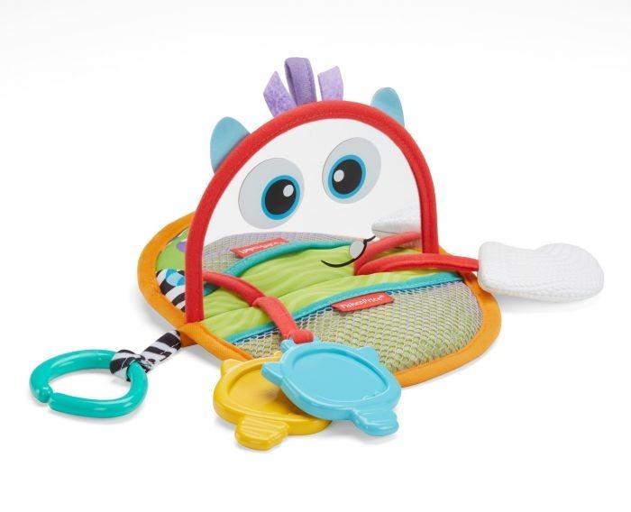 Fisher price mini monsters espejo actividades estimulacion for Espejo retrovisor bebe fisher price