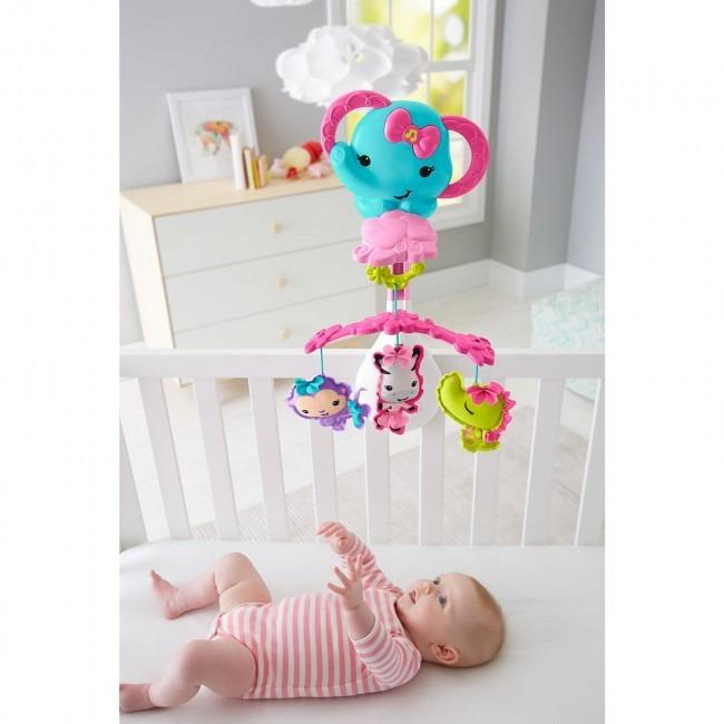 Fisher price movil 3en1 para cuna y coche juguete bebe s 149 00 en mercado libre - Movil para cuna bebe ...