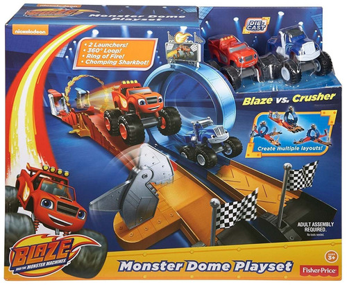 fisher-price nickelodeon blaze and the monster machine pista