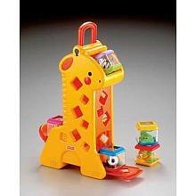 fisher-price peek-a-blocks tumblin 'sonidos de la jirafa