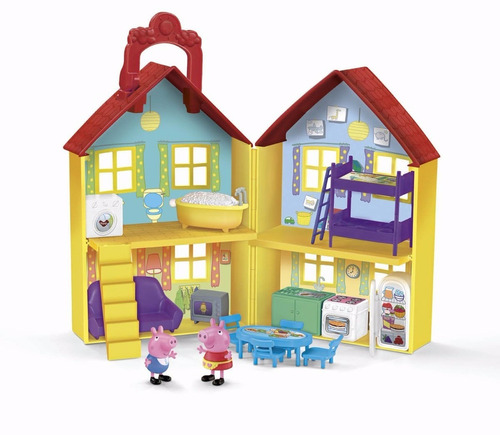 fisher-price peppa pig casa surpresa-peek surprise playhouse