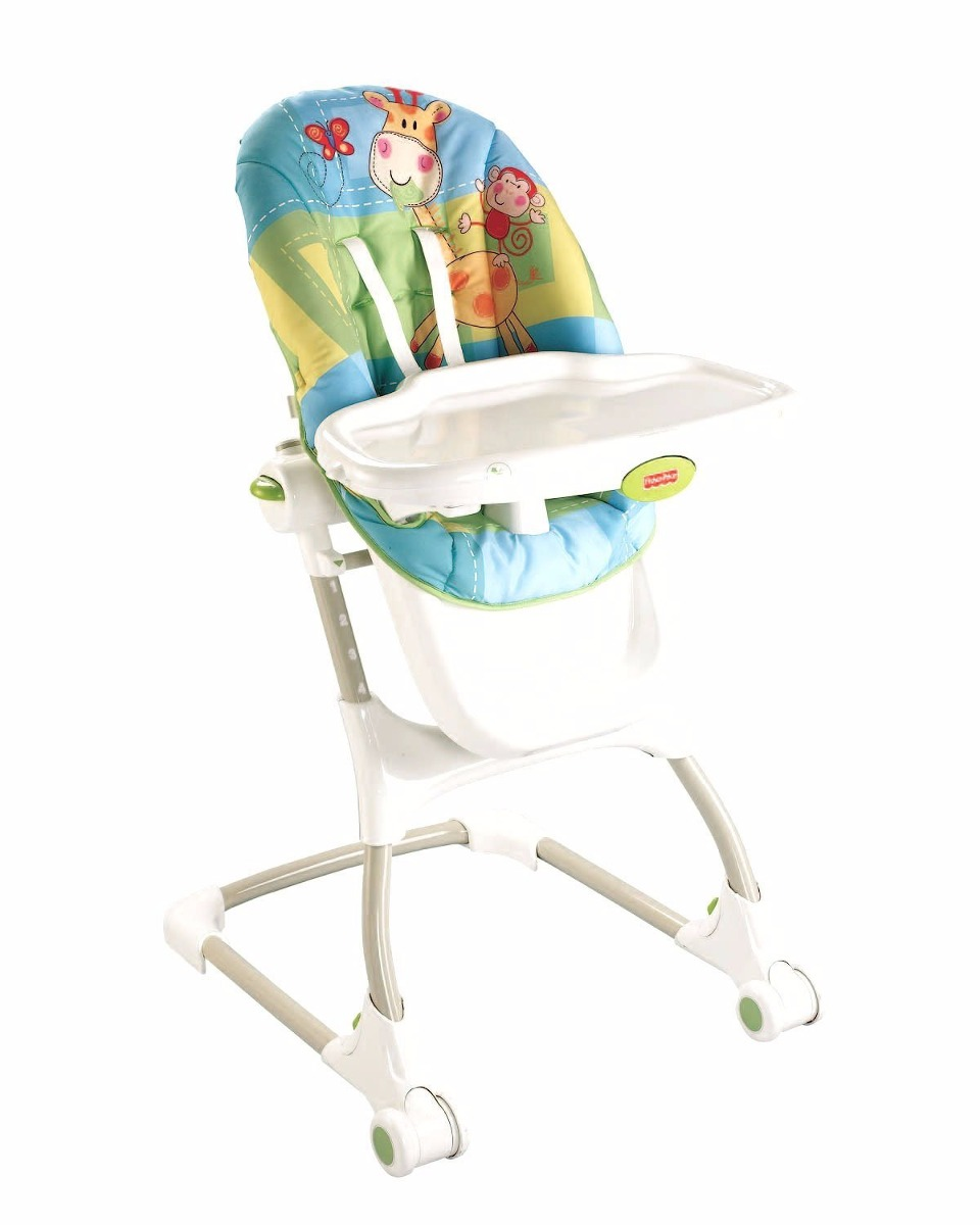 Fisher price periquera silla infantil alta comer bebe for Silla fisher price para comer