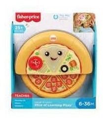 fisher price pizza de aprendizagem deliciosa mattel