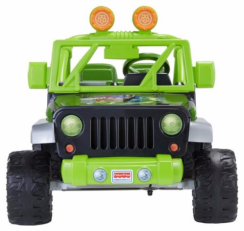 fisher-price power wheels teenage mutant ninja turtle jeep