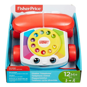 Fisher-price Primer Teléfono Clasico Chatter Telephone