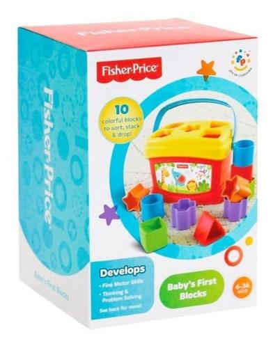 fisher price primeros bloques del bebé