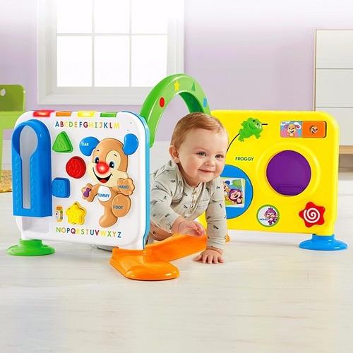 fisher price rie y aprende muro panel de actividades juguete