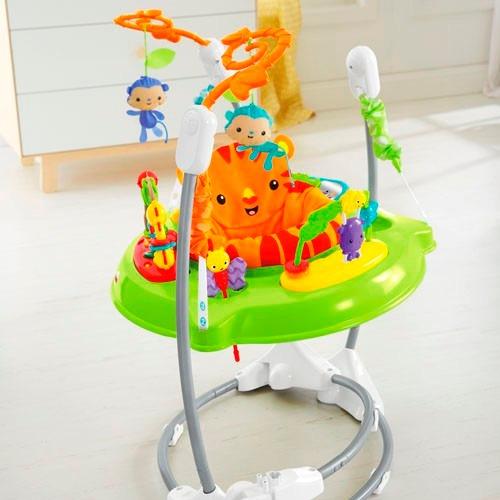 fisher-price roarin jumperoo gimnasio saltador bebe