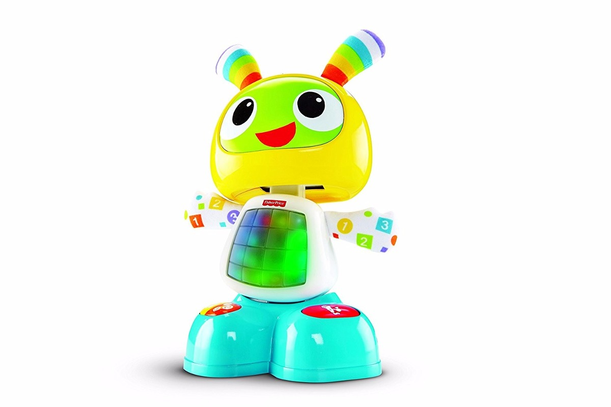 fisher price robot interactivo bibot juguetes nios musical