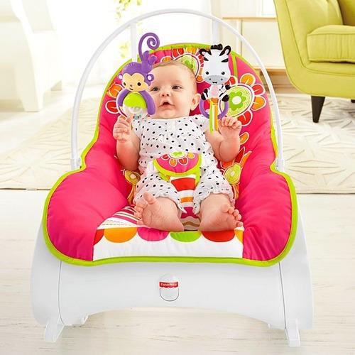 fisher-price rocker floral silla mecedora vibradora bebe
