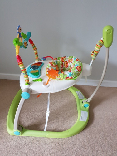 fisher price saltarin jumpero musical como nuevo exhibicion