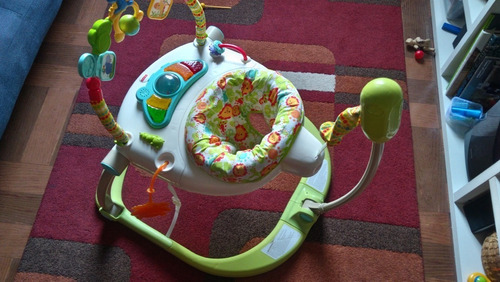 fisher price saltarin jumpero musical luces 4alturas c/nuevo
