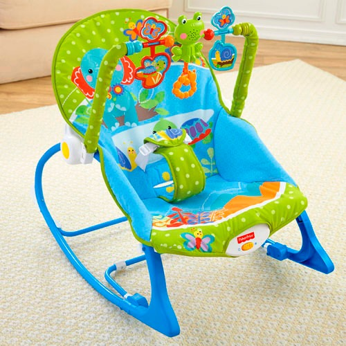 Fisher price silla musical crece conmigo mecedora for Silla fisher price