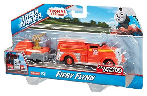 fisher-price thomas - amigos trackmaster fiery flynn