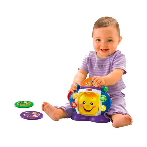 fisher price toca cd el mas divertido para tu bebe