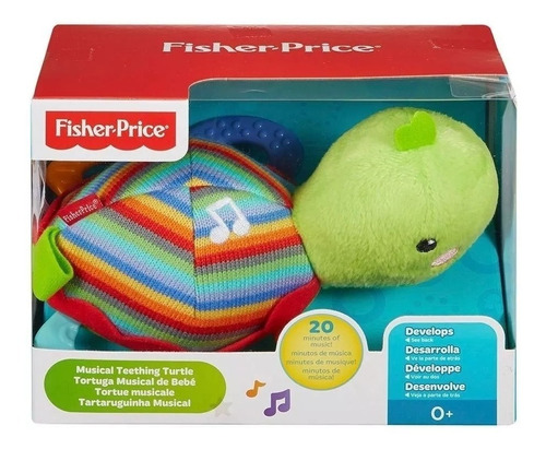 fisher price tortuga musical de bebe