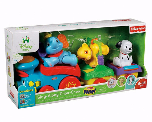 fisher price trencito choo choo disney rey leon dumbo