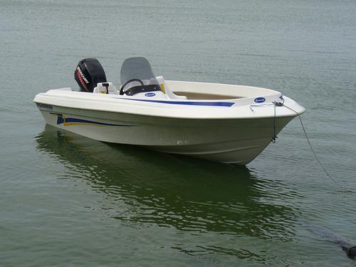 fisherman 4.30 con 40 hp  mercury