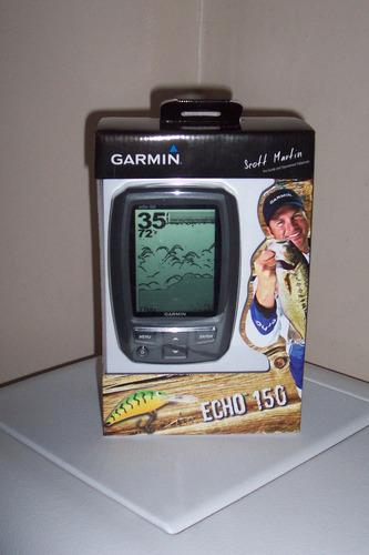 fishfinder garmin echo 150 detector de peces botes lanchas