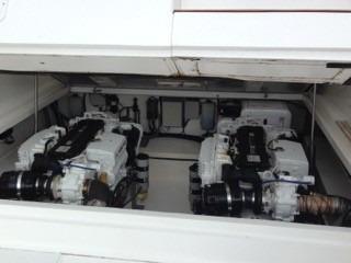 fishing 38open 2008 02 motores caterpilar - marina atlântica