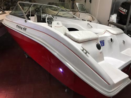 fishing 490  open sin motor