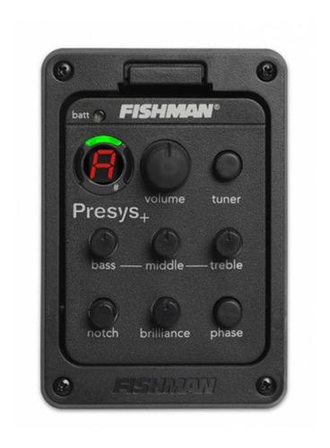 fishman 201 presys blend preamplificador de guitarra acústic