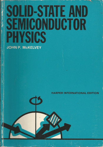 fisica de estado sólido y de semiconductores. j. mckeveley.