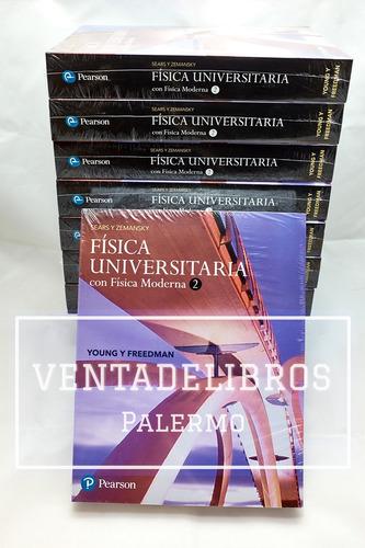 fisica universitaria sears zemansky 14 /e vol. 1 + 2 pearson