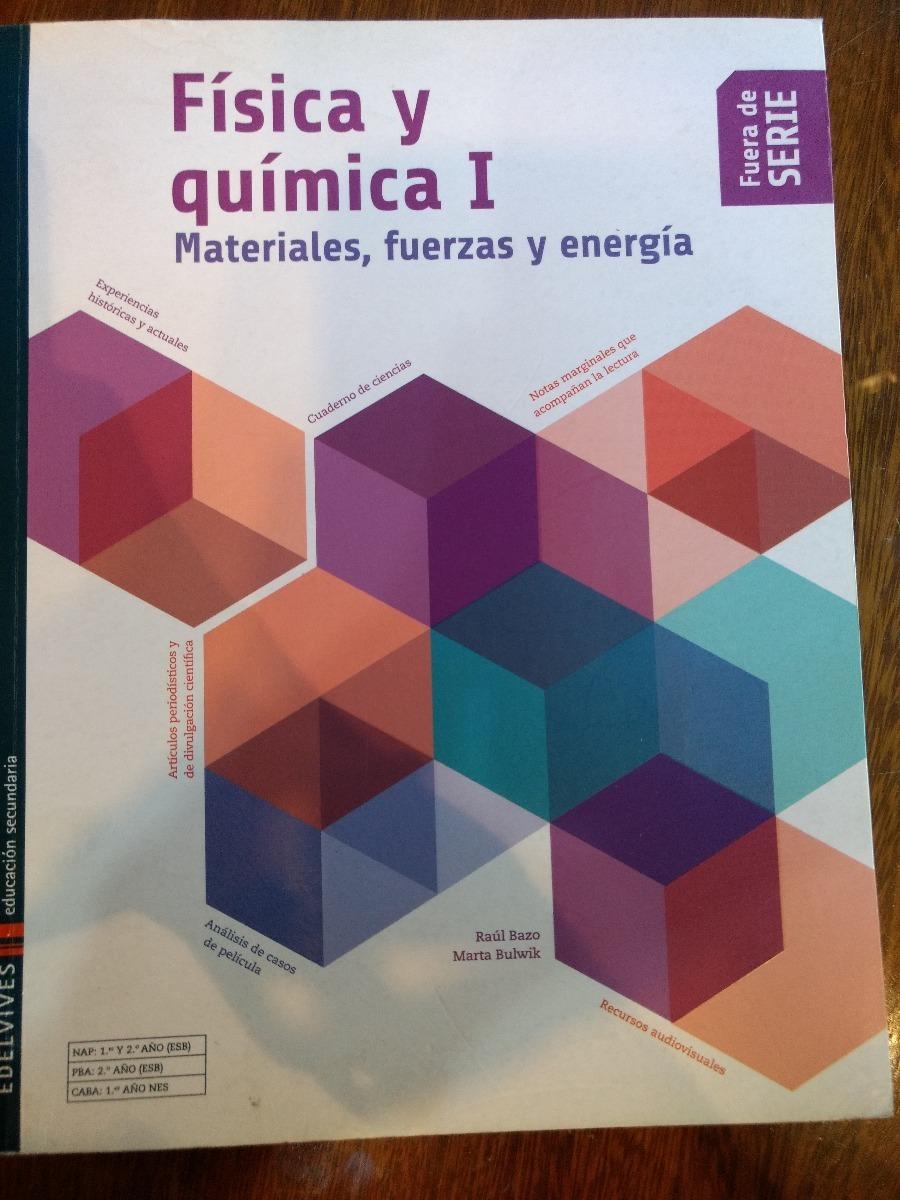 2ab0204b8d Física Y Química 1, Edelvives, Fuera De Serie - $ 380,00 en Mercado ...