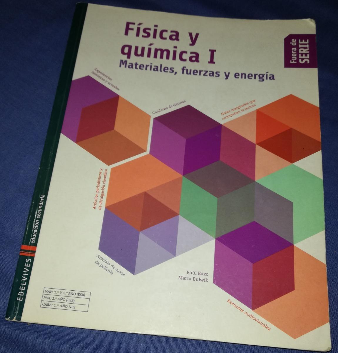 d25c963c1a Fisica Y Quimica 1... Edelvives Fuera De Serie - $ 320,00 en Mercado ...
